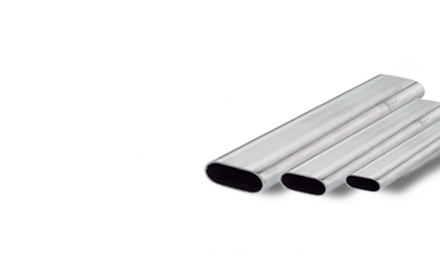 Flat-oval pipe 30×15