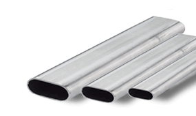 Flat-oval pipe